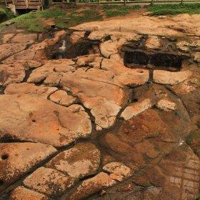 Fuente de Lavapatas en la zona de San Agustín