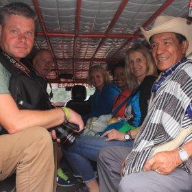 taxi hacia Tierradentro