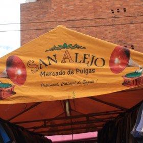 mercado de pulgas Bogotá