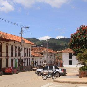 Plaza de Zapatoca, Colombia